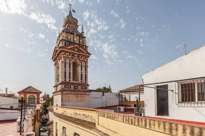 Dream penthouse at the Heart of Seville - Wifi-AC