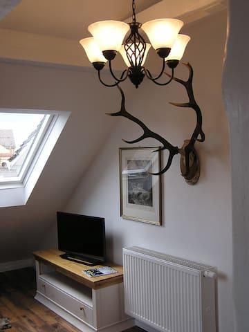 Komfortable 2-Zimmer-Wohnung im Landhausstil - Baden-Baden - Apto. en complejo residencial