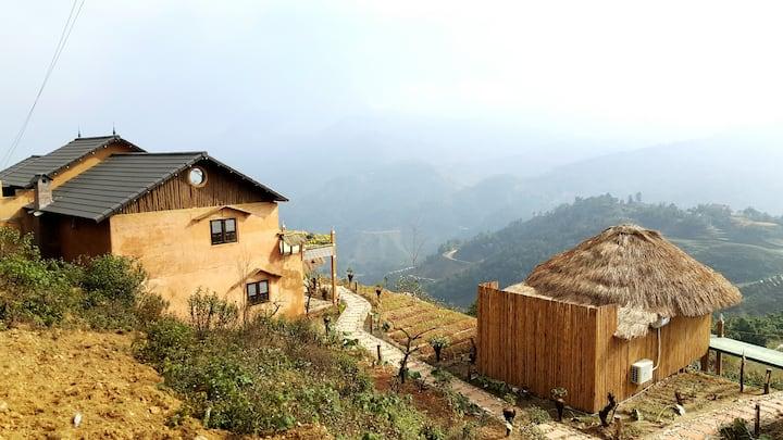 Sapa Clay House - Private Bamboo Hut