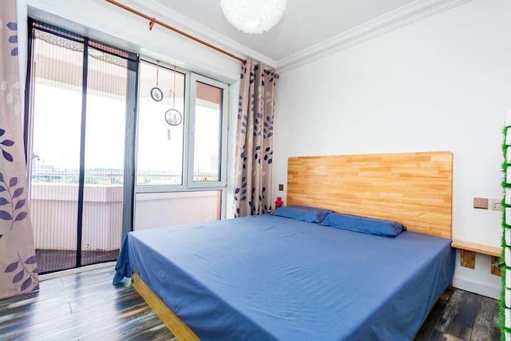 LULU'S  HOUSE |||【漫屿】露台/海景公寓/亲子/4人/海岸线/山海广场景区/