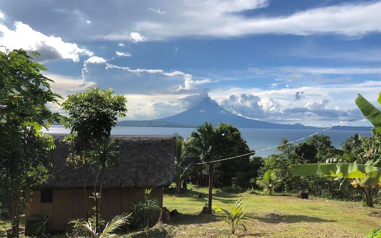 Cawayan hut, Bicol