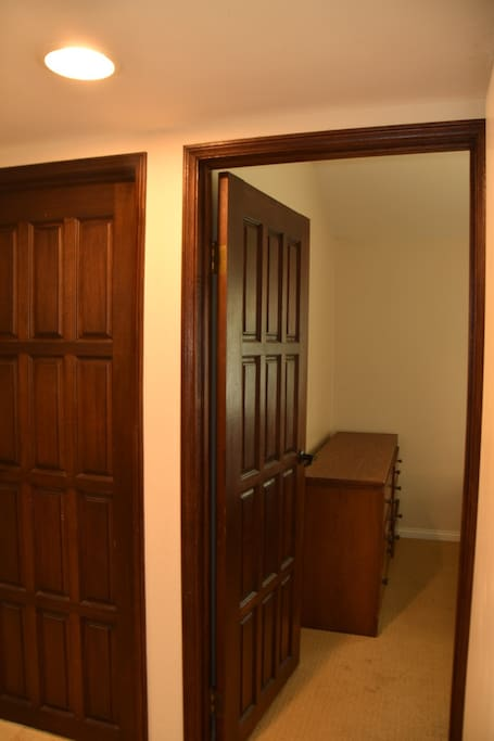 Entrance to private room