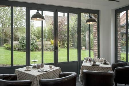 gite avec 2 chambres doubles entièrement équipé - Fromelles - Bed & Breakfast