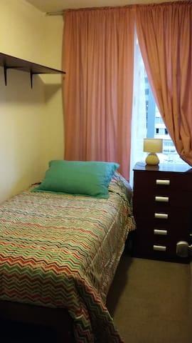 Habitación single con baño en Santiago Centro - Santiago - Guest suite