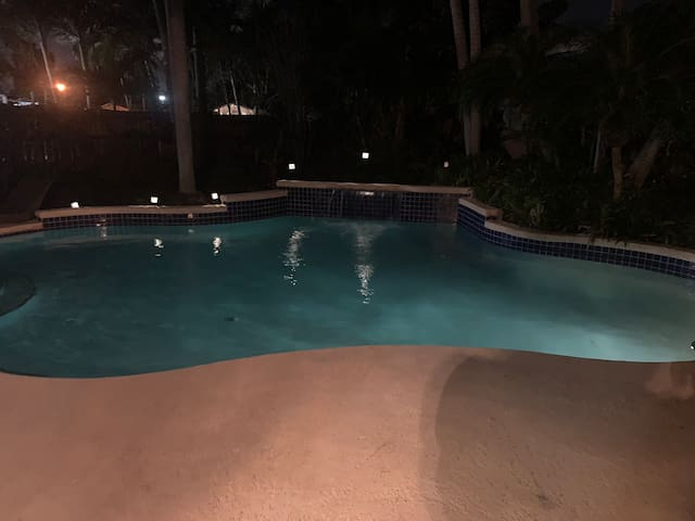 TROPICAL OASIS IN MIAMI DRINKS,POOL,WIFI AND MORE!