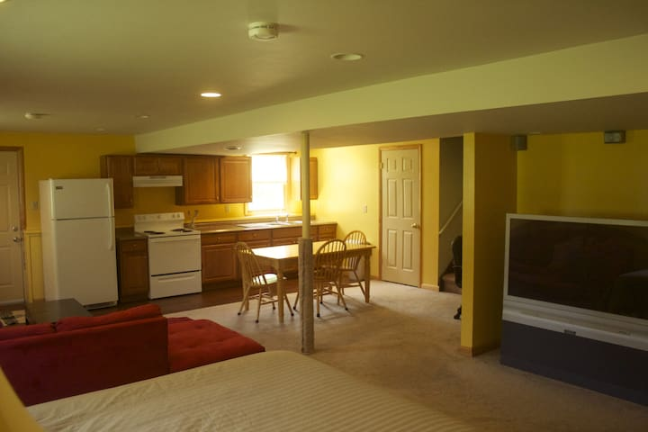 Studio Apt close to SUNY Brockport & Eric Canal