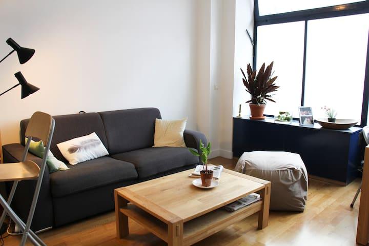 bel appartement F2 à la Buttes aux Cailles - Paris - Apartment