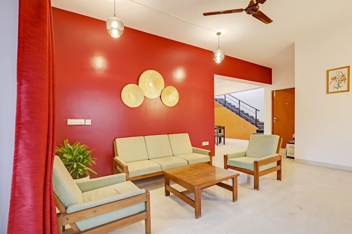 OYO - Tranquil 1BR Retreat in Indira Nagar-Discounted!