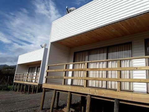 Cabañas individuales Rio El Manzano Cabaña 3