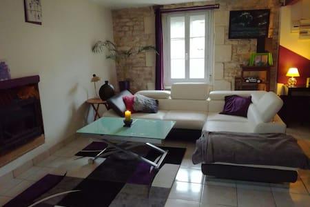 Maison en pierre, pleine de charme - Cires-lès-Mello - Hus
