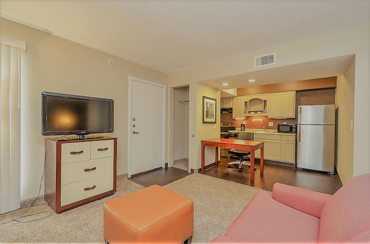 Cozy condo near MD Anderson, NRG, Downtown