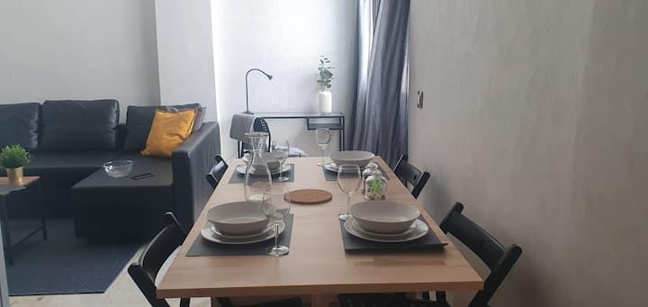 Très bel Appartement en face Parc, près de Novotel