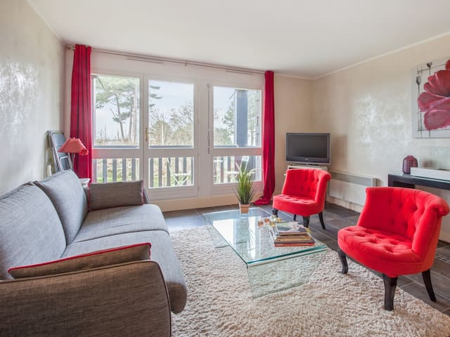 Charming and calm flat with balcony and parking in Trouville - Welkeys