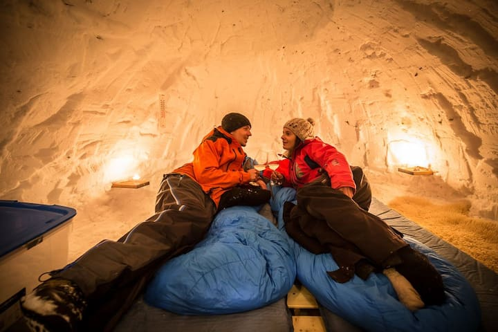 Nuit en IGLOO - Belledonne