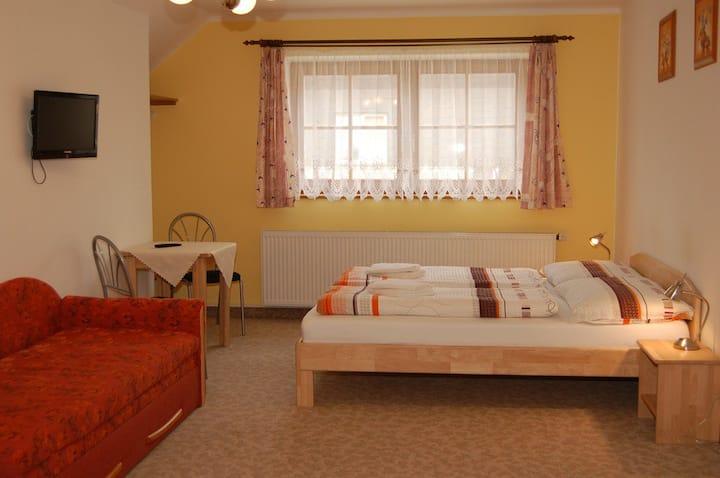 2-lůžkový apartmán č.3