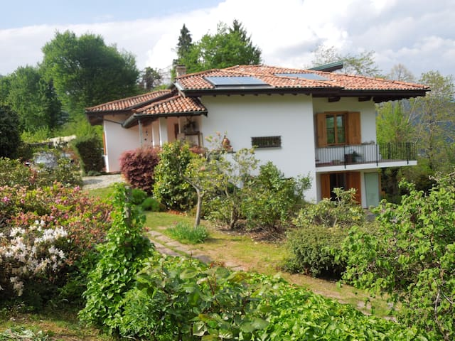 Apartment in villa with large garden - Cadegliano-Viconago