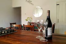 A relaxed dining area forms part of our spacious open plan kitchen-diner