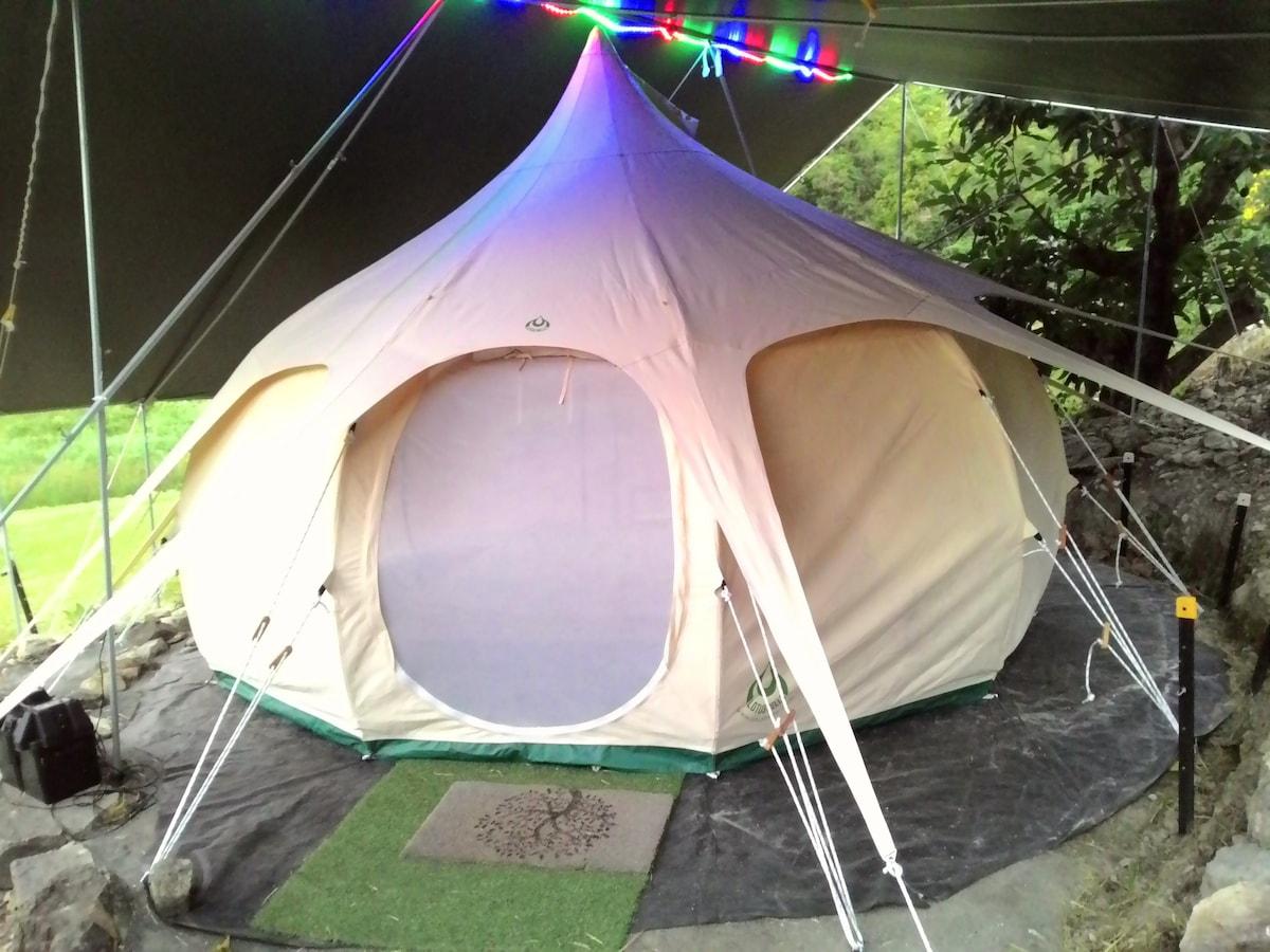 Lotus Belle Tent Lotus Belle Tent & Romantic Noosa Hinterland Private Glamping Escape - Tents for Rent ...