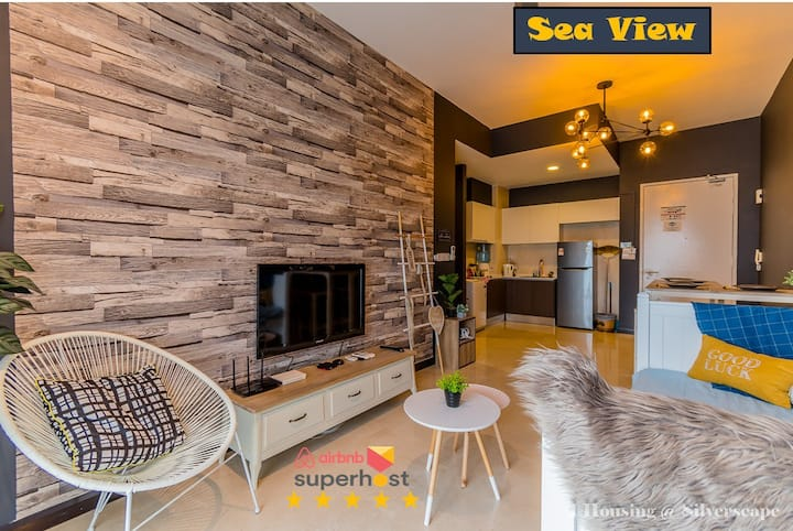 Silverscape 波希米亚风 1613 Seaview Melaka By I Housing