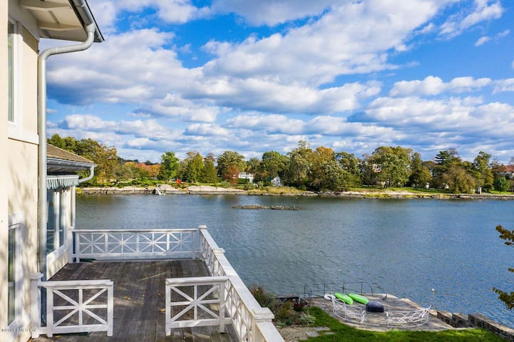 Amazing Waterfront Home Downtown Greenwich