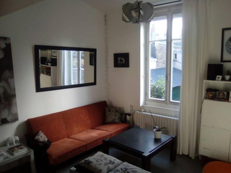 Bel appartement atypique 60m2 appartements louer for Appartement atypique 94