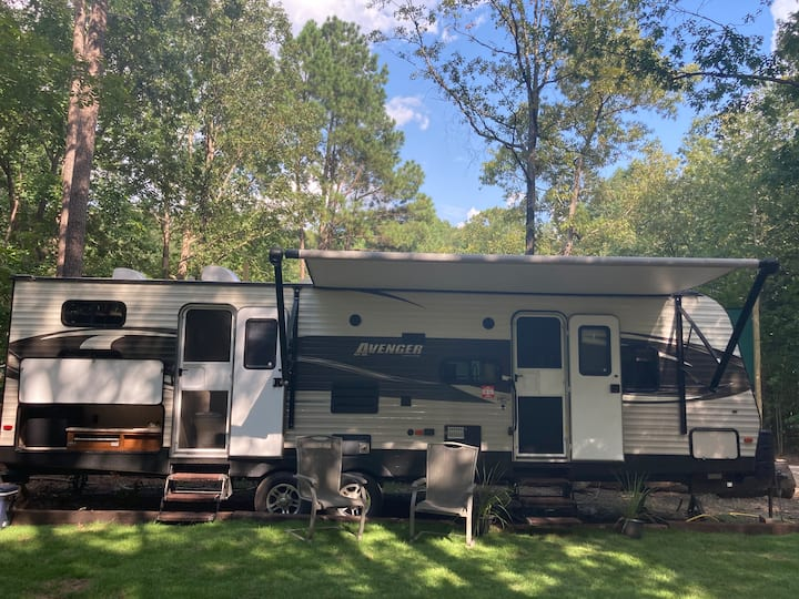 Social Distancing Luxury Glamping