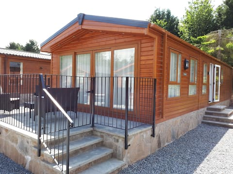Luxury lodge to rent in Perthshire countryside
