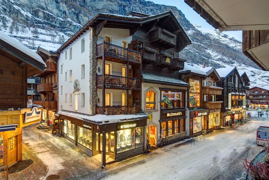 Chalet alpine lodge 133 zermatt apartments for rent for The alpine lodge