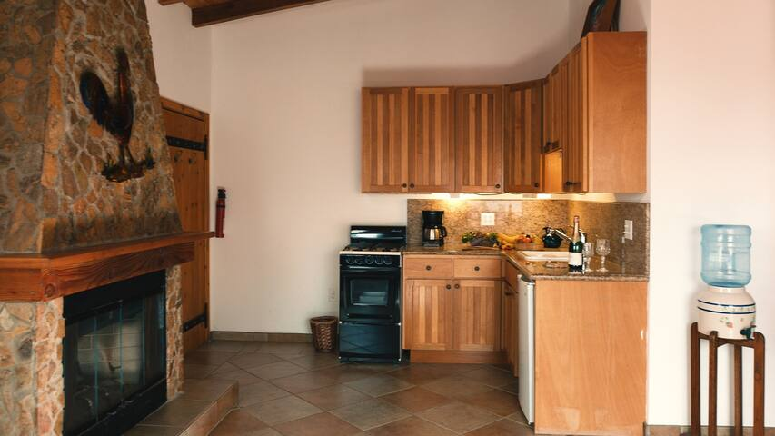 Kitchenette and Chimney