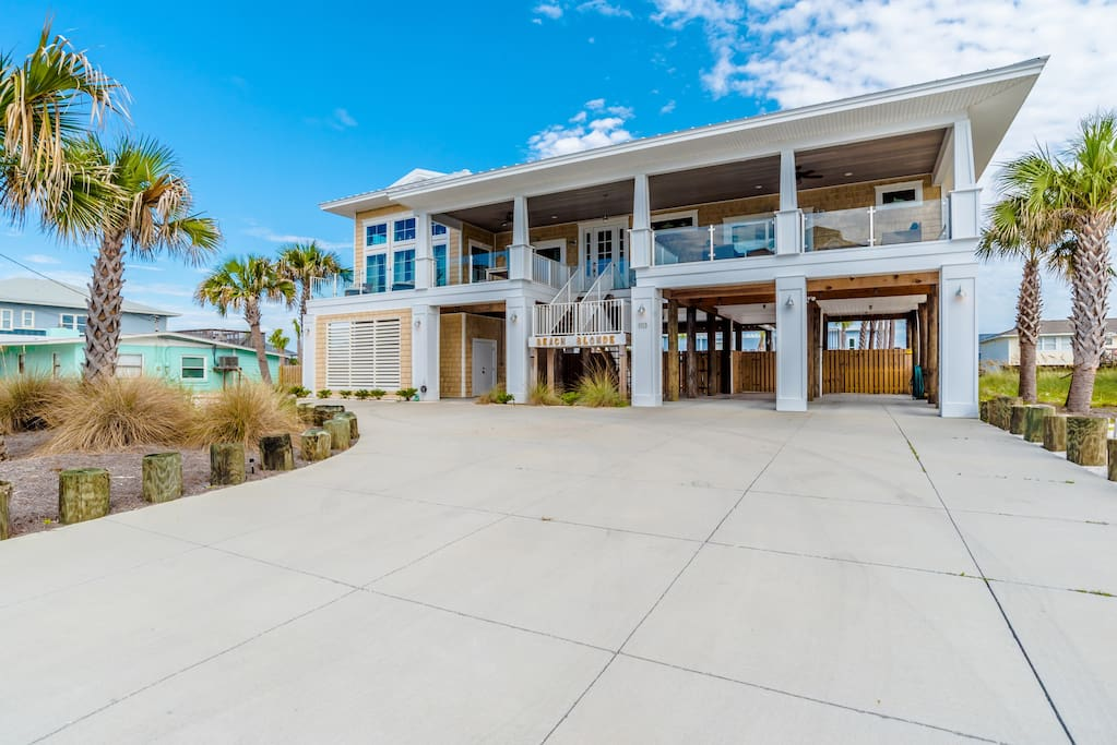 Upscale 4br Gulf View Home W Pool Houses For Rent In Pensacola Beach Florida United States