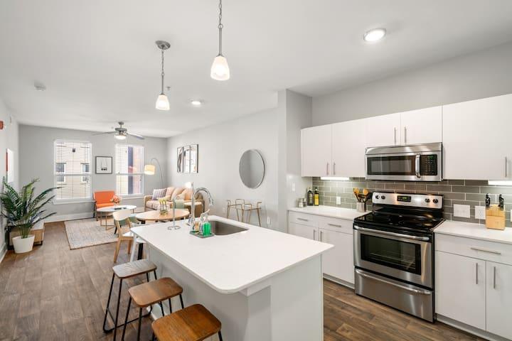 Modern 1BD/1BA Apartment in Atlanta
