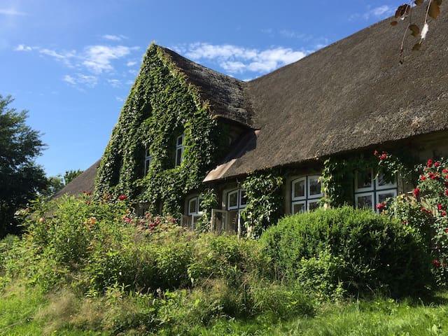 Wohnen im historischen Friesenhof in Inselnähe