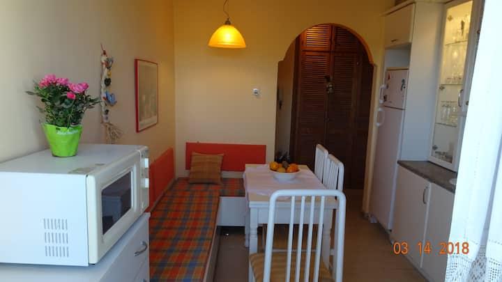Teo's apartment(near the beach)