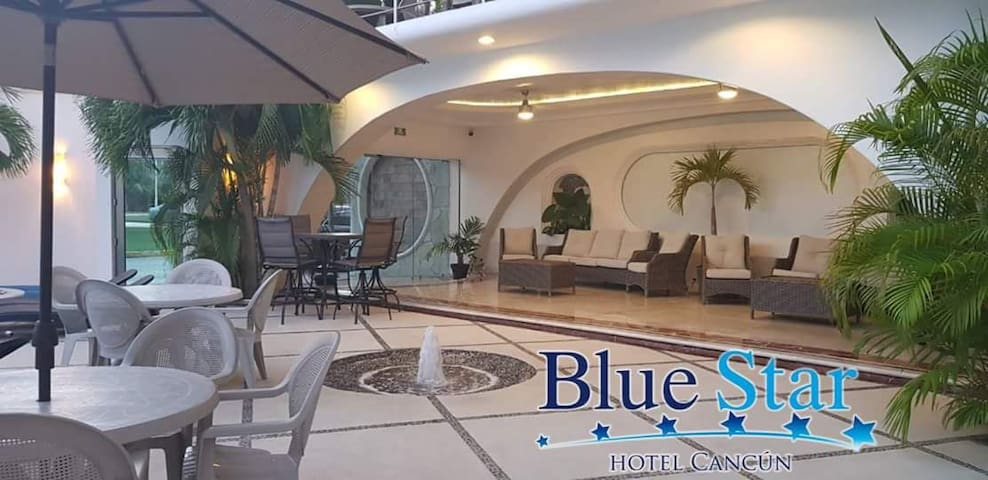 Hotel Blue star Cancun    hbt estandar
