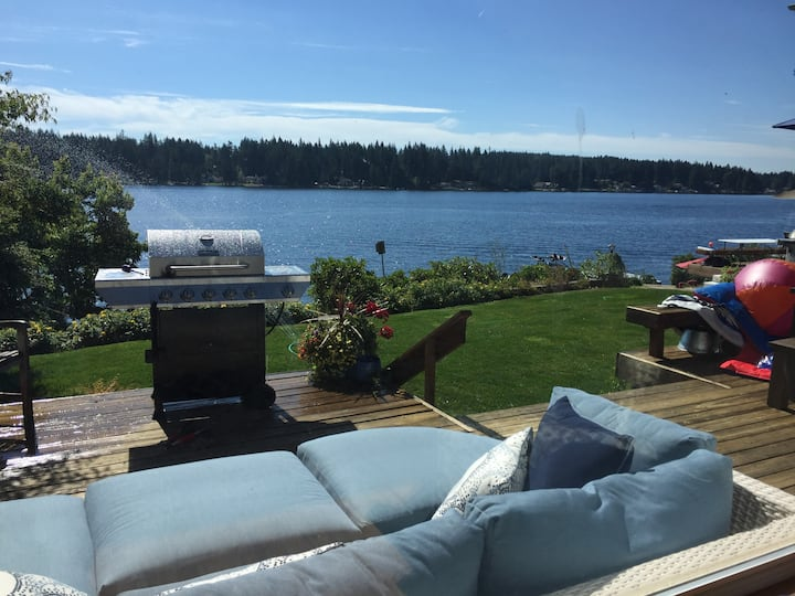 Amazing Updated  Lakefront Home with decks / dock