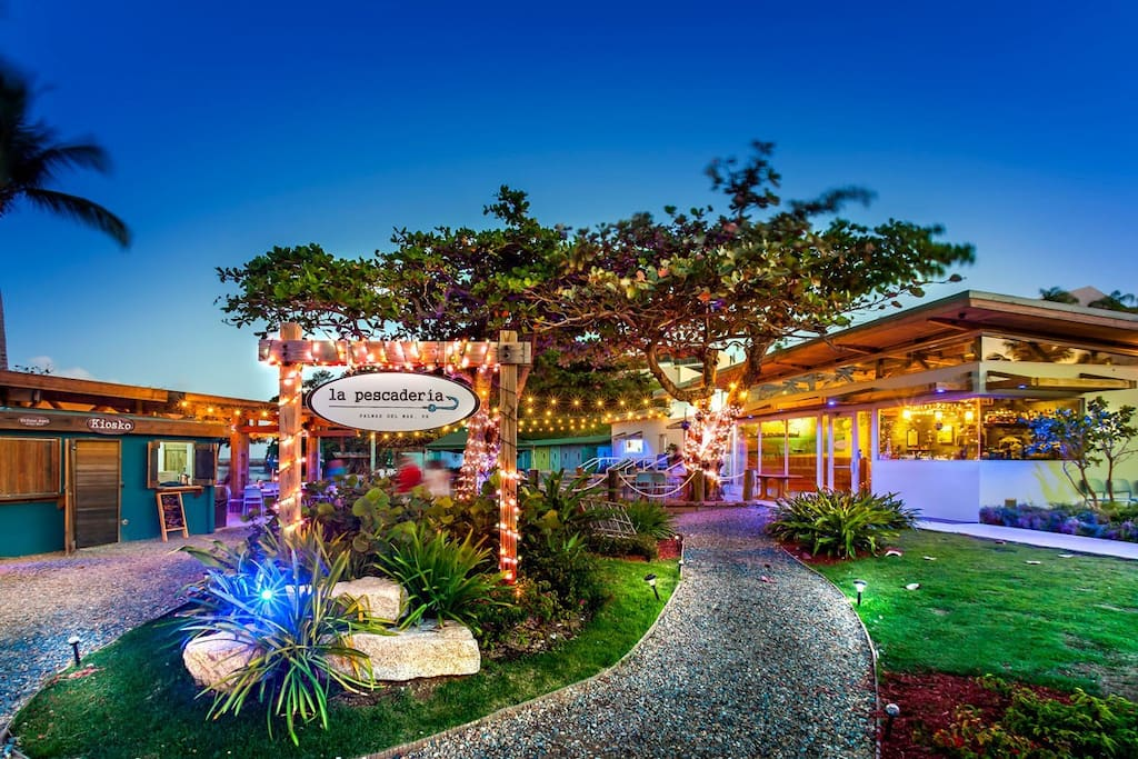 Palmas Del Mar Restaurant Located Next Door.