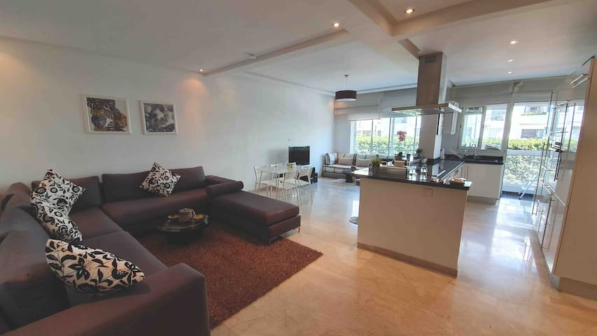 Stylish apartment in central Casa (near Paul Anfa)
