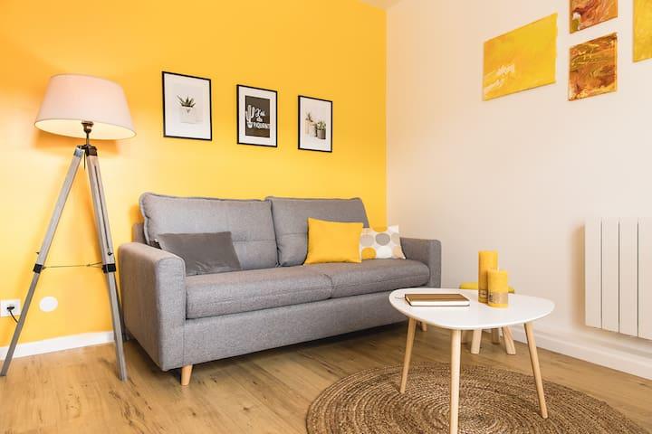 Appartement charmant, fonctionnel +Parking+Netflix