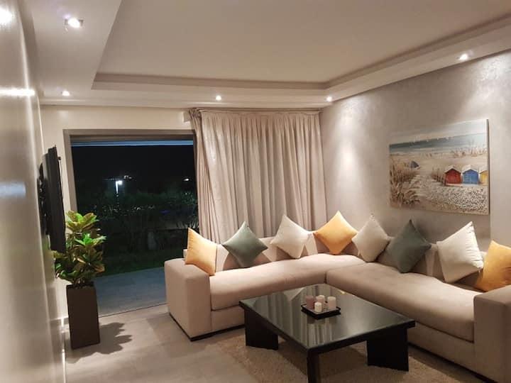 Appartement haut standing vue sur mer et piscine