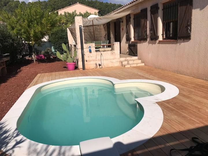 Villa NELZEN : charmante villa Sud de la France