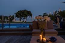 Enjoy the evening views