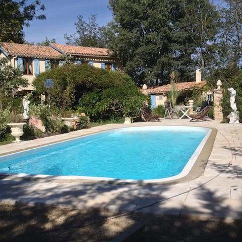 LES GLYCINES(sleeps 8) - La Redorte - House