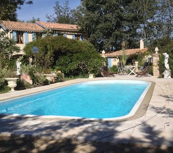 LES GLYCINES(sleeps 8) - La Redorte