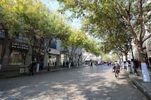 【青春】百寸投影  中央大街 索菲亚教堂 松花江畔附近的一居室