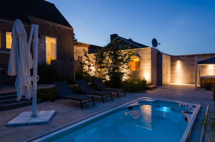 House with private pool/wellness - Heuvelland - Cabana