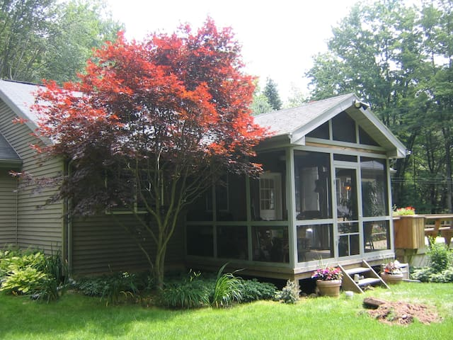 Pocono Home With Total Privacy - not in community