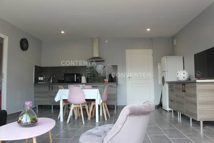 Maison appartement adapté PMR