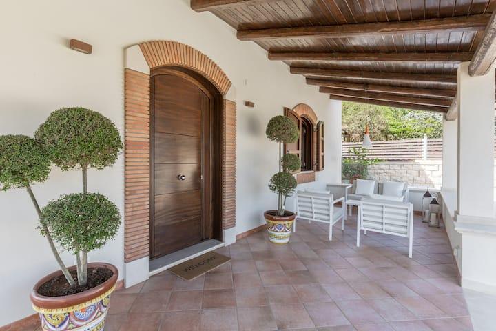 Villa Charme Avola antica con piscina privata.