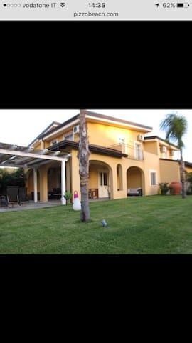Villa Pizzo beach club - Contrada Difesa II - วิลล่า
