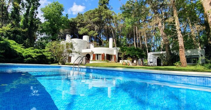 Casa clasica divina para disfrutar y relajarse